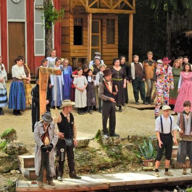 Tom Sawyer, Naturtheater Hayingen,Bühnenbild, Kostümbild, Jana Fahrbach