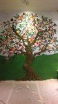 "Wandmalerei für ""Witty Knitters""-Store"