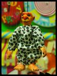 Marionette, Puppe, Figur, Fäden, Puppentheater, Kindertheater, Monster