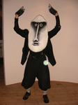 Maske, Der Widerspenstigen Zähmung, Theatersommer Netzeband, Theater, Masken, Schauspiel, Open Air, Shakespeare, Jana Fahrbach, Maskenbau, Naturtheater